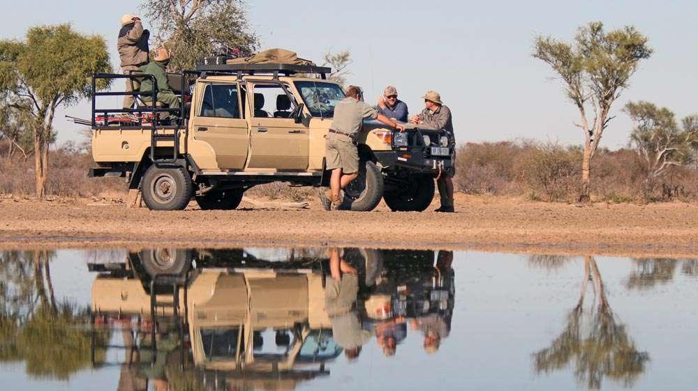 cv safaris hunting safari vehicle option and daily rates